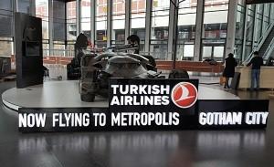 Batmobile in Airport