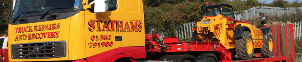 Stathams Towing - Banner